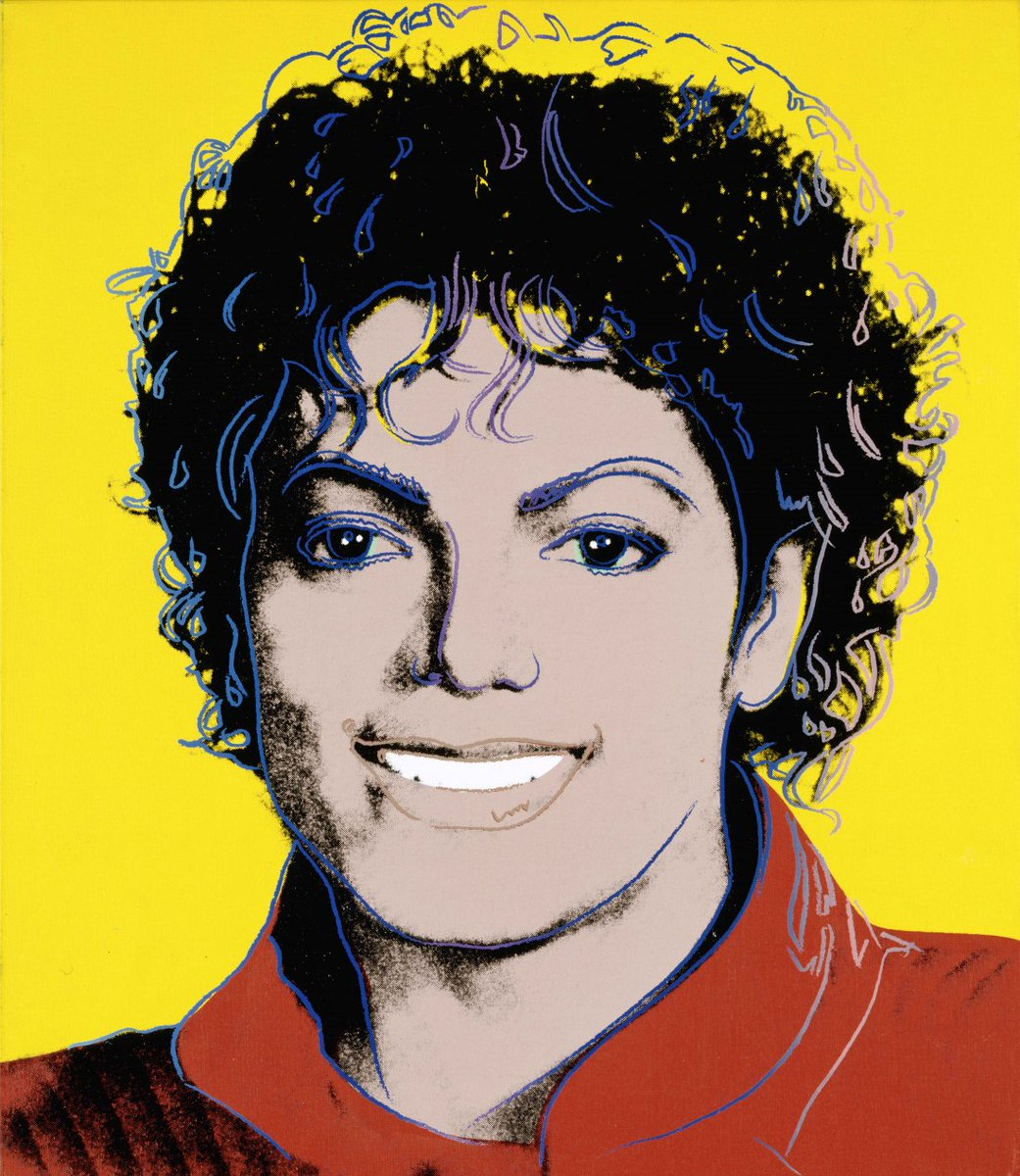 TIME Magazine commissioned Andy Warhol to paint a portrait for its March 1984 cover story on Michael Jackson. That portrait now hangs in the National Portrait Gallery, part of the Smithsonian Institution. It is one of the most respected art museums in the world. #MJLegacy