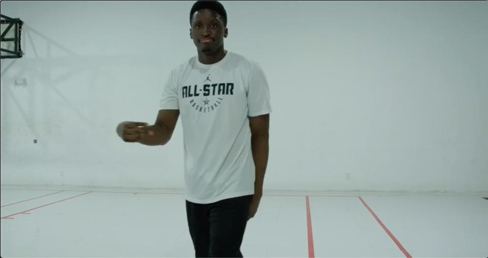 Comeback SZN is upon us �� @VicOladipo takes his first steps since his season ending knee injury! #TrulyUnbreakable https://t.co/5Wo9LxTz1o