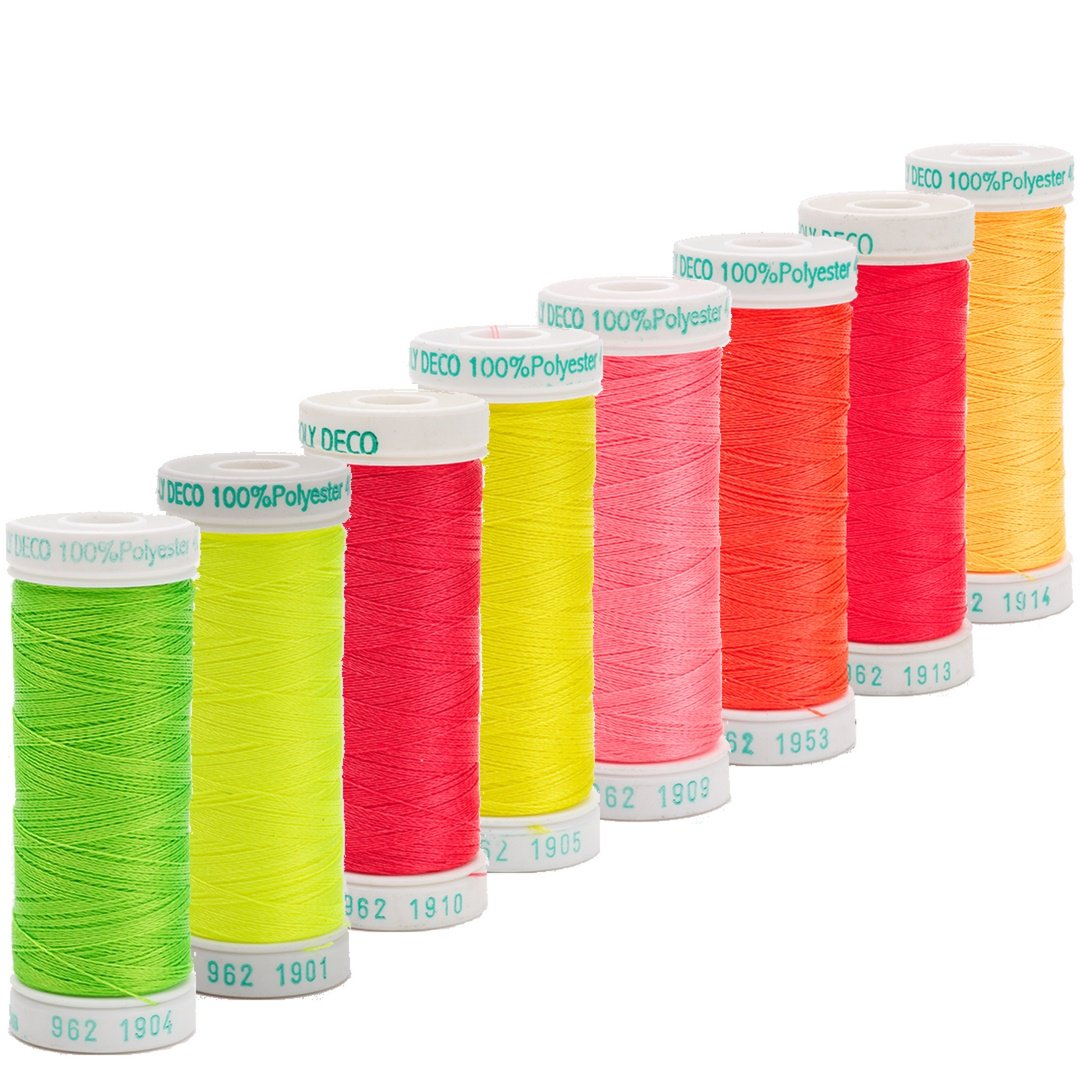 Overlocking Sewing Machine PolyThread 5000 Yard Cone  33 COLOURS