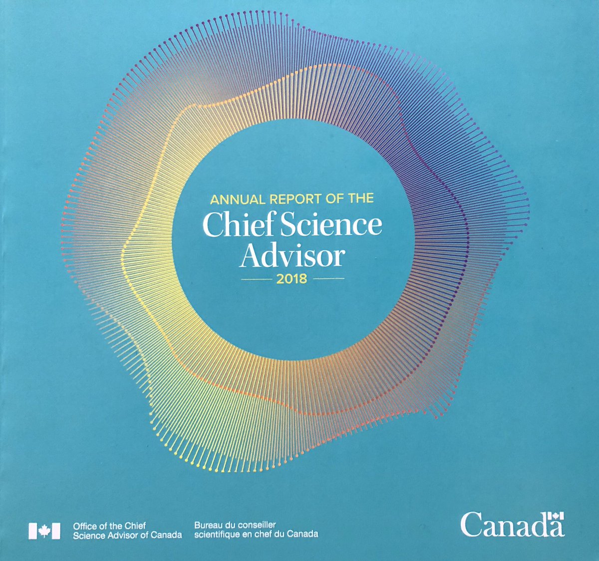 The @ChiefSciCan's first annual report is now available!  Dr. Nemer's work has had impacts across the federal government, including on #ClimateAction.   Find out what else has been achieved over the last year: http://ow.ly/Zszk50mYvop #CdnSci #CanadaSupportsScience