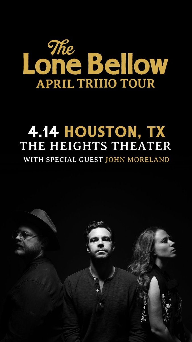 Thrilled to have @JohnMorelandOK joining us in Houston on 4/14! Make sure to grab your tickets in advance here: http://bit.ly/TLB_HoustonTX