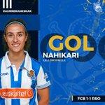 ¡¡GOOOOOOOOOOOOOOOOL DE @Nahikari_Garcia!!