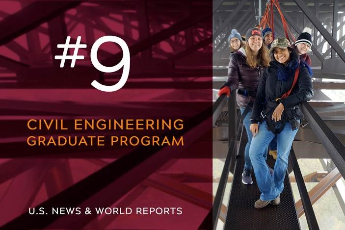 Virginia Tech Civil And Environmental Engineering On Twitter We Knew Vtcee Was Pretty Incredible And Now It Is Confirmed Environmental Engineering Graduate Program Is 7 And Civil Engineering Is 9 In The