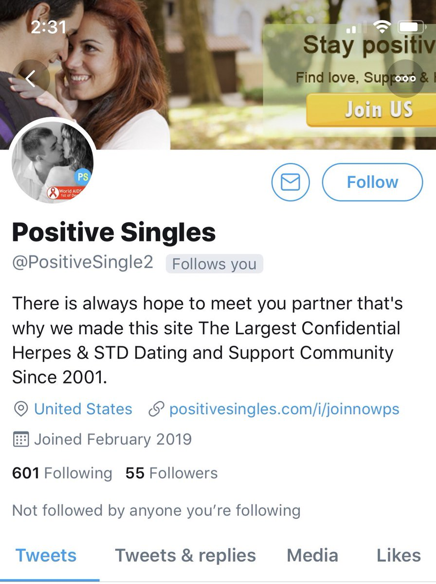 Online Dating STD positiv