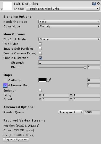 Hehe I was quite surprised that #Unity has his own distortion