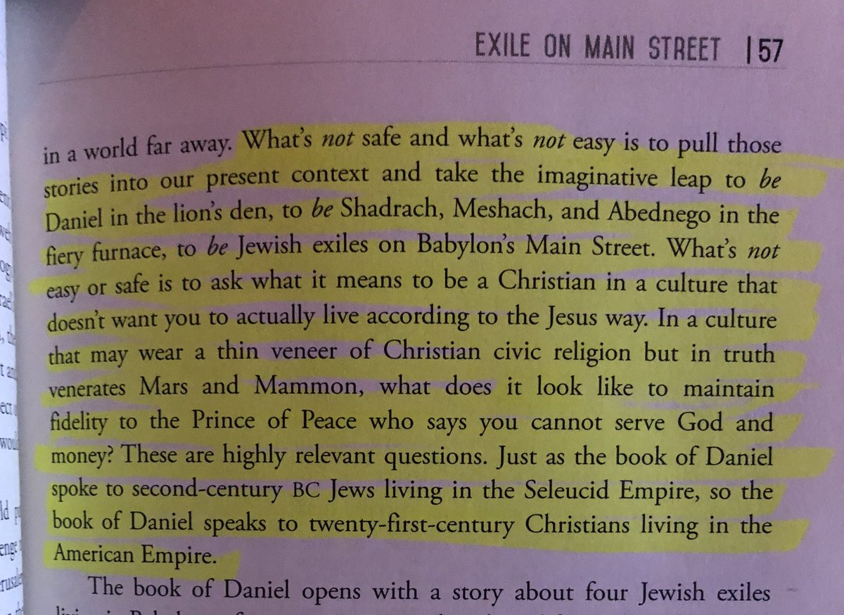 Postcards from Babylon is throwing down some truth many of us need right now! Thx @BrianZahnd