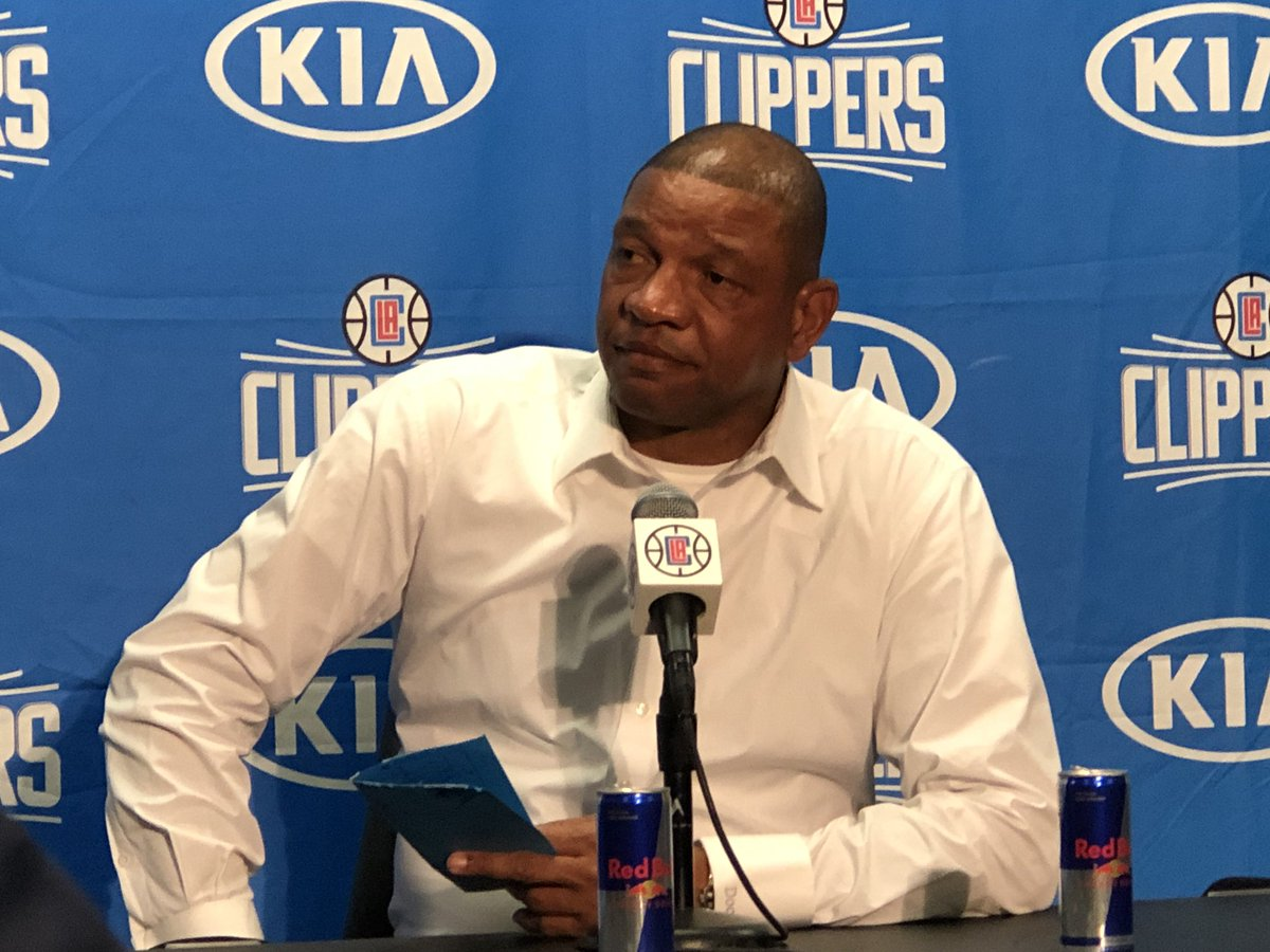 """""""Winning is player development.  I can teach a guy to shoot, but it's always about winning.""""   @LAClippers coach Doc Rivers"""