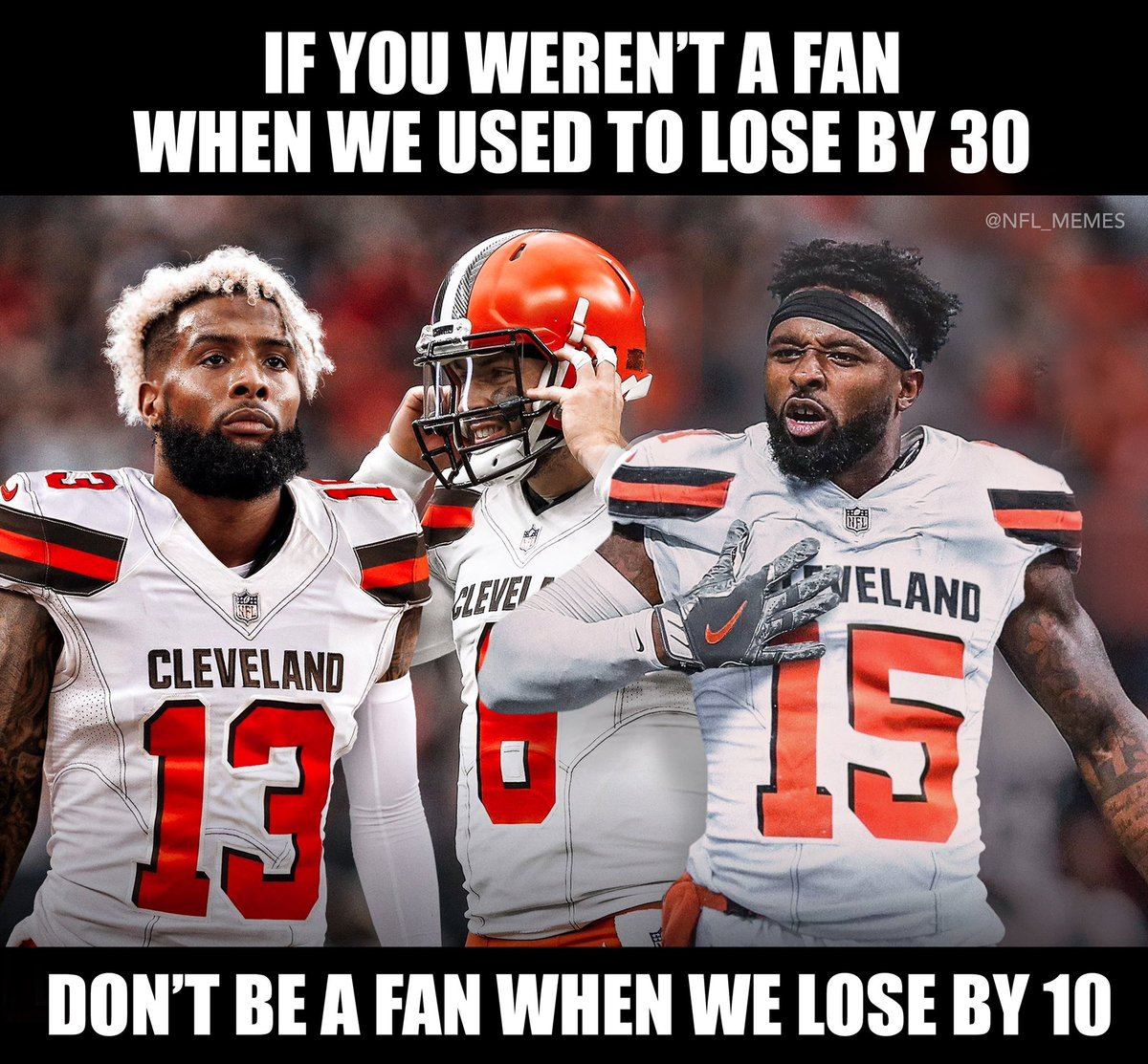 Browns will still find a way to screw this up...