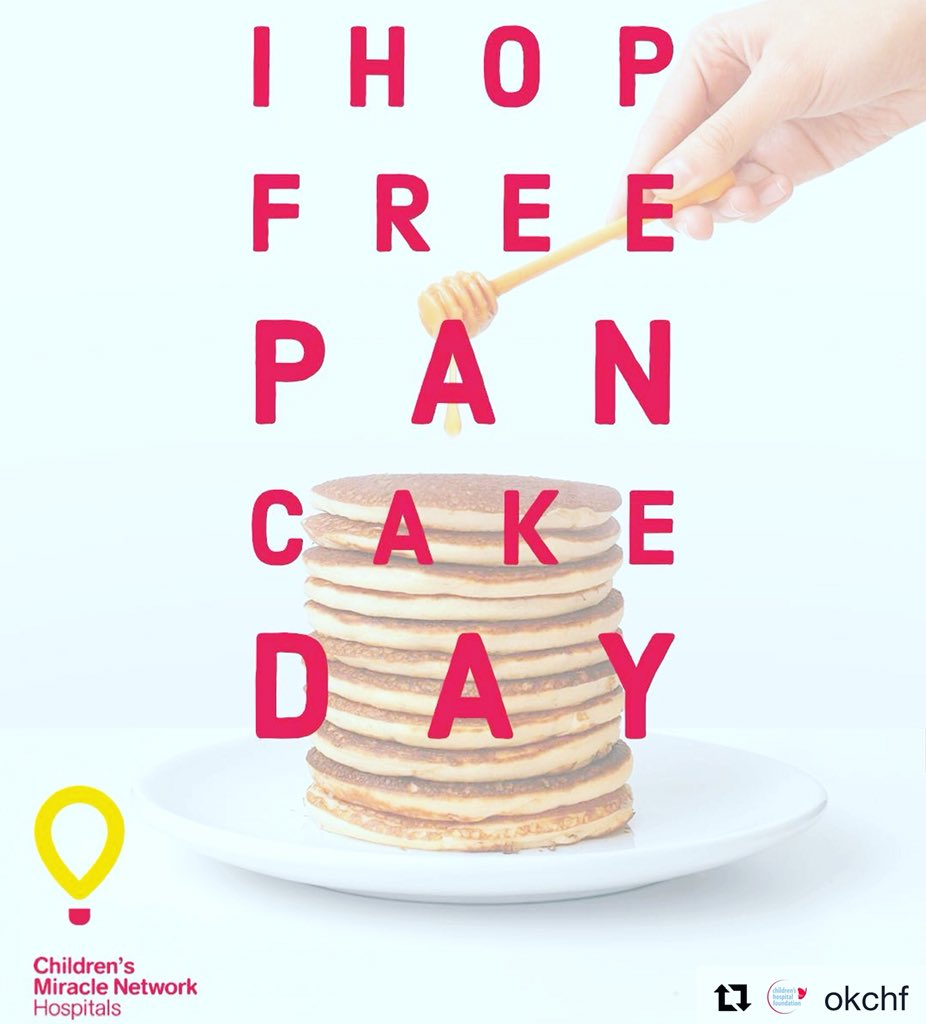 IHOP Free Pancake Day 2019 – Children's Miracle Network Hospitals
