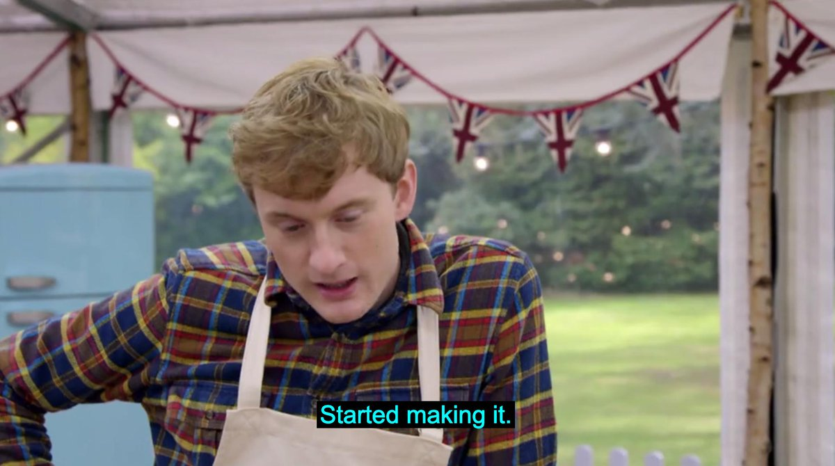 Literally us all. #BakeOff