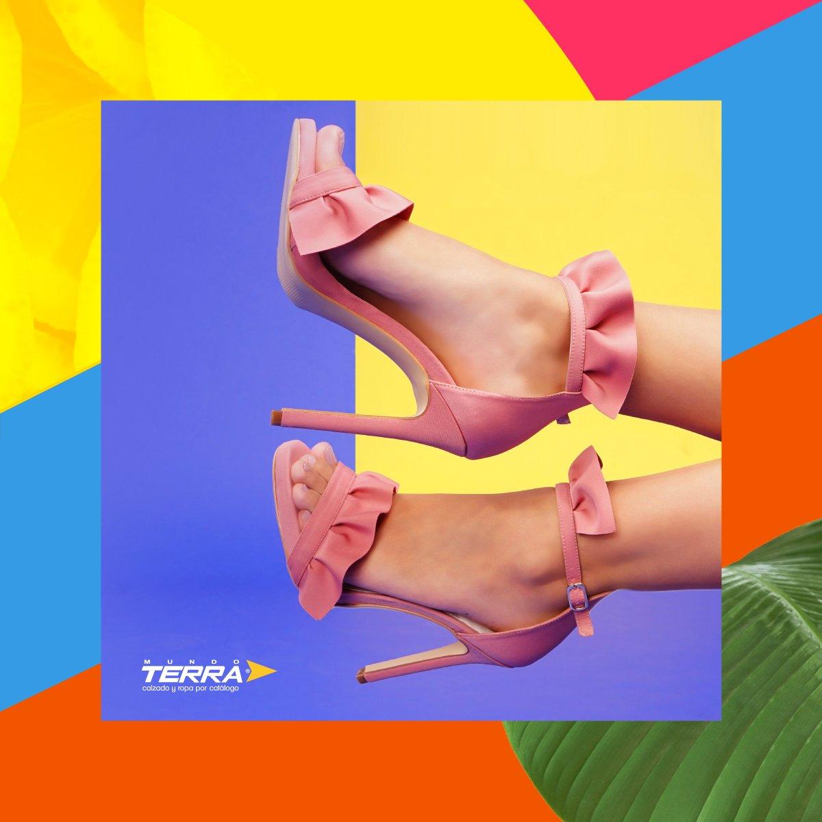 Si buscas estilizar las piernas opta por calzados con tacón medio a alto, pero finito.  #mundoterra #shoes #tacones #heels https://t.co/EUYvAIMYAK