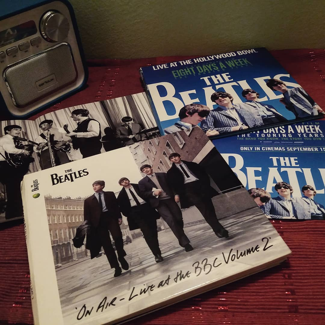 tonight... it is all about The Beatles and stunning live albums 💙  #TheBeatles