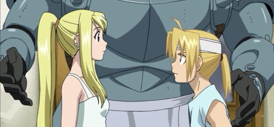 do y'all ever think about how much ed and winry grew throughout fmab and start crying because i sure fucking do