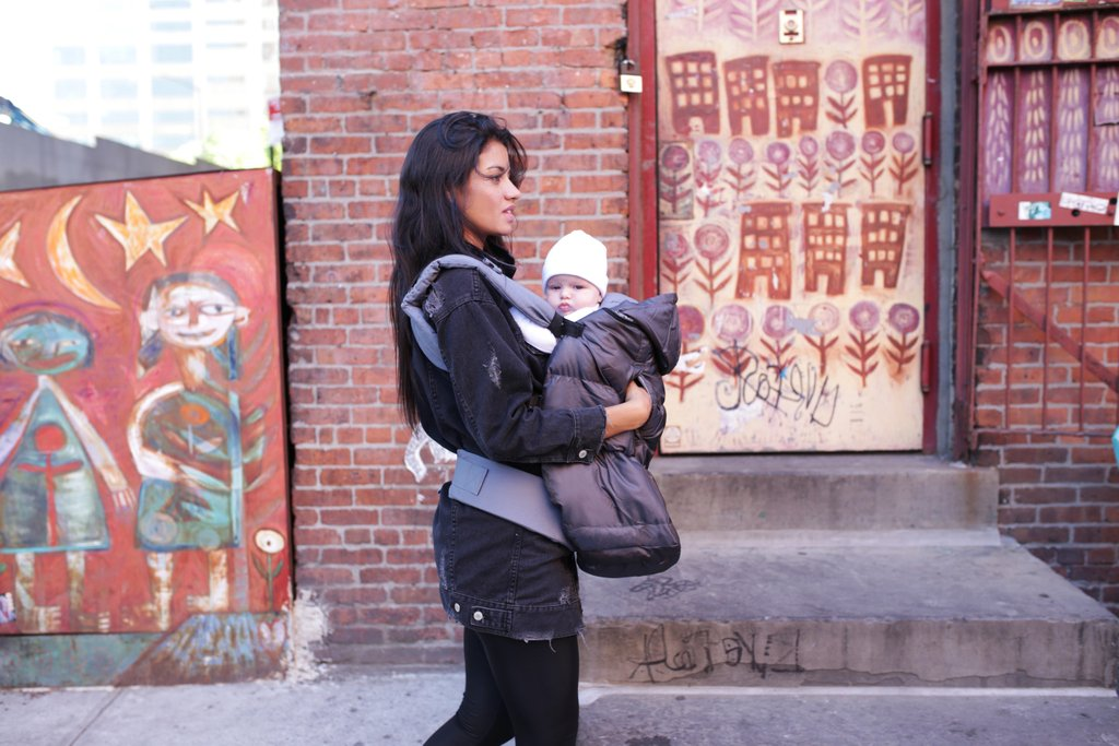 4ee0daf1af2 The Pookie Poncho does triple duty! http   bit.ly 2XTEAbc  7amenfant   pookieponcho  babycarrier  babycarriercover  stroller  baby  babies   family  nyc ...