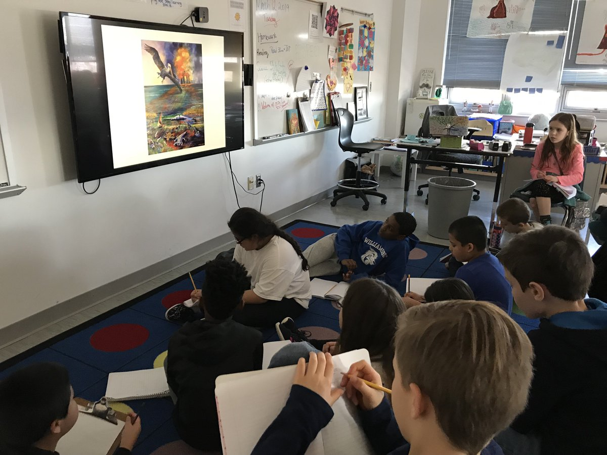 Reading ART to invoke emotion and strong, powerful words for our 6 word stories <a target='_blank' href='http://search.twitter.com/search?q=humanImpact'><a target='_blank' href='https://twitter.com/hashtag/humanImpact?src=hash'>#humanImpact</a></a> <a target='_blank' href='http://twitter.com/MsEllisclass'>@MsEllisclass</a> <a target='_blank' href='http://twitter.com/CETAatKC'>@CETAatKC</a> <a target='_blank' href='http://twitter.com/AbingdonGIFT'>@AbingdonGIFT</a> <a target='_blank' href='https://t.co/XlBwdM632P'>https://t.co/XlBwdM632P</a>