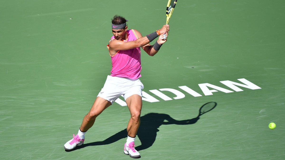 Rafa Nadal, en Indian Wells.