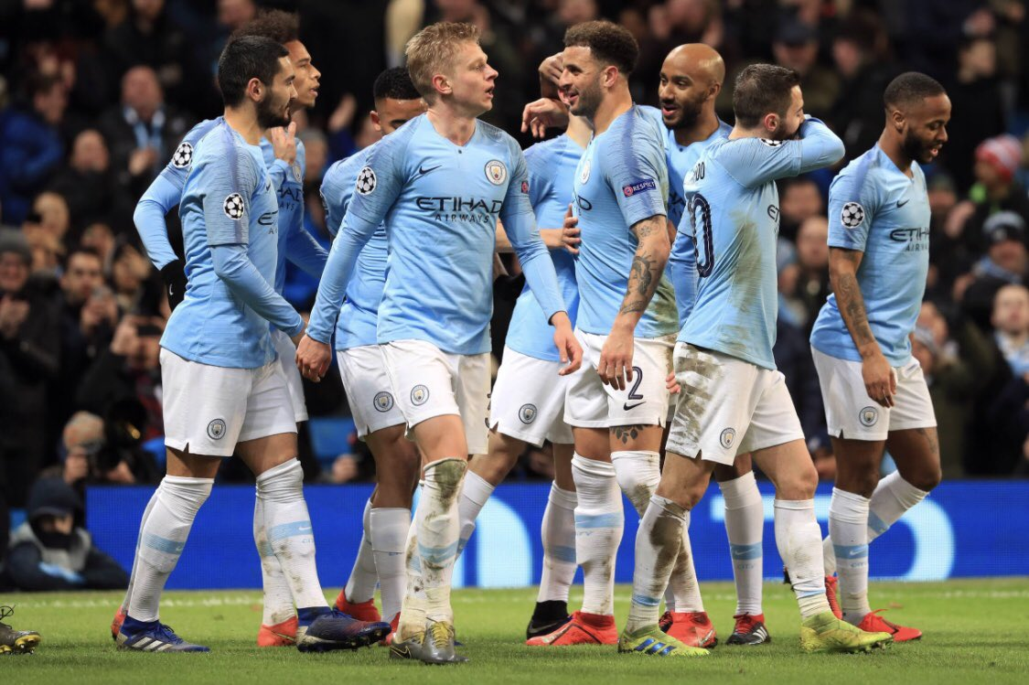 Top European night! Really professional job done. Last 8, @ManCity is coming!!