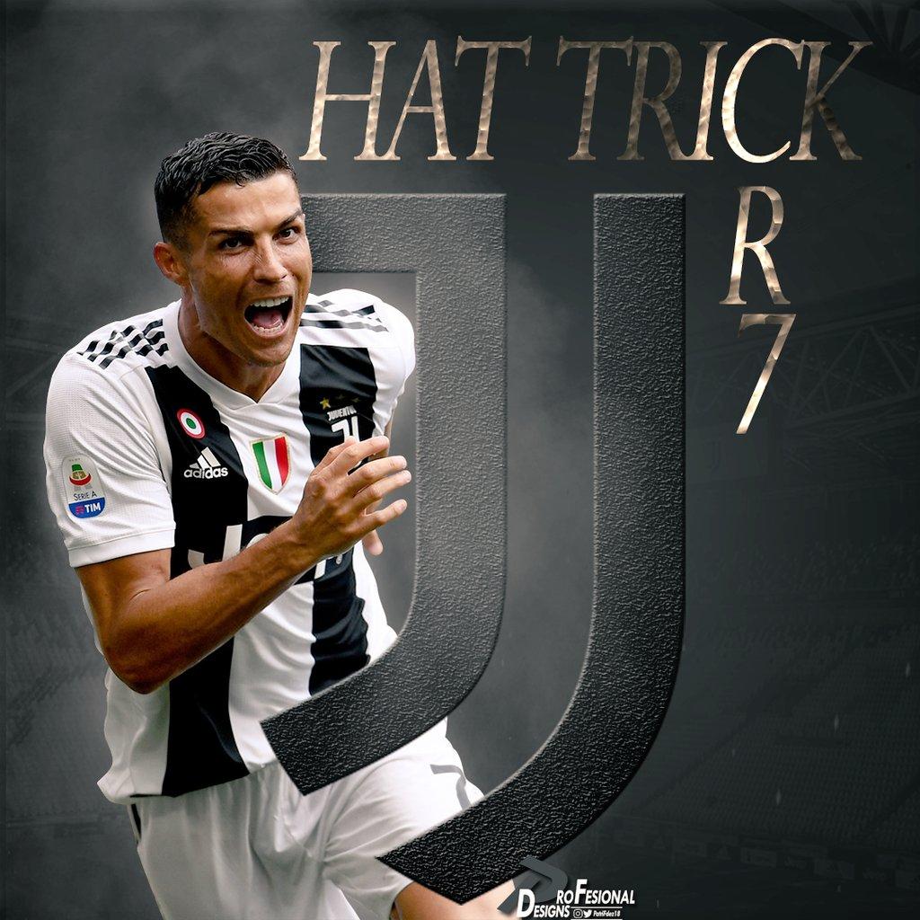 Hat trick ⚽ de @Cristiano. La noticia de la noche.  #UCL #ChampionsLeague