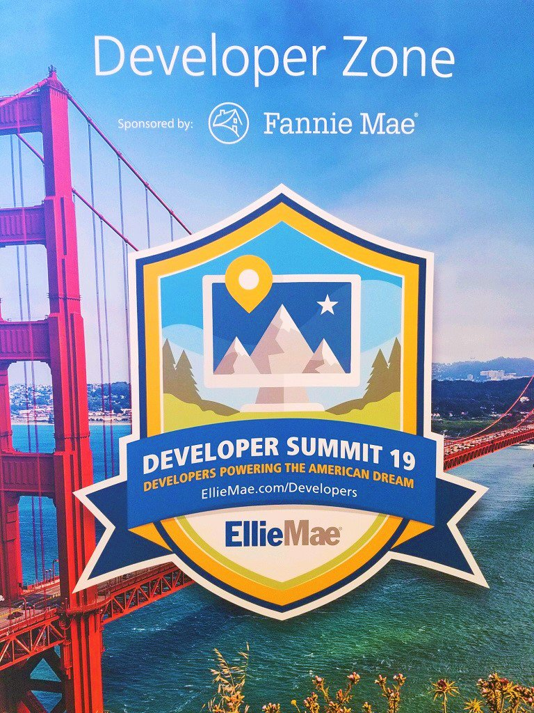 A special thank you to our #Developer Summit sponsor, @FannieMae, for supporting #EllieMaeDevelopers on their journey to drive innovation home. #EXP19