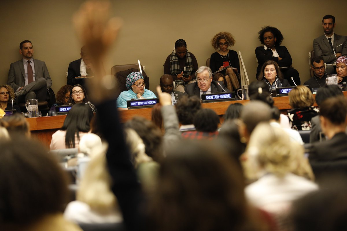 Around the world, there is a pushback on women's rights.  We must push back against the pushback – and keep pushing. https://bit.ly/2PFS0lR  #CSW63