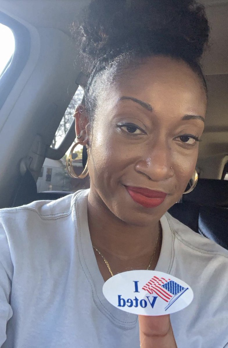 My last vote was 9 yrs ago. After almost 7 years of being ineligible to vote, my rights were restored with the passing of Amendment 4 and I casted my ballot early! I encourage all to Early Vote! @rolandsmartin