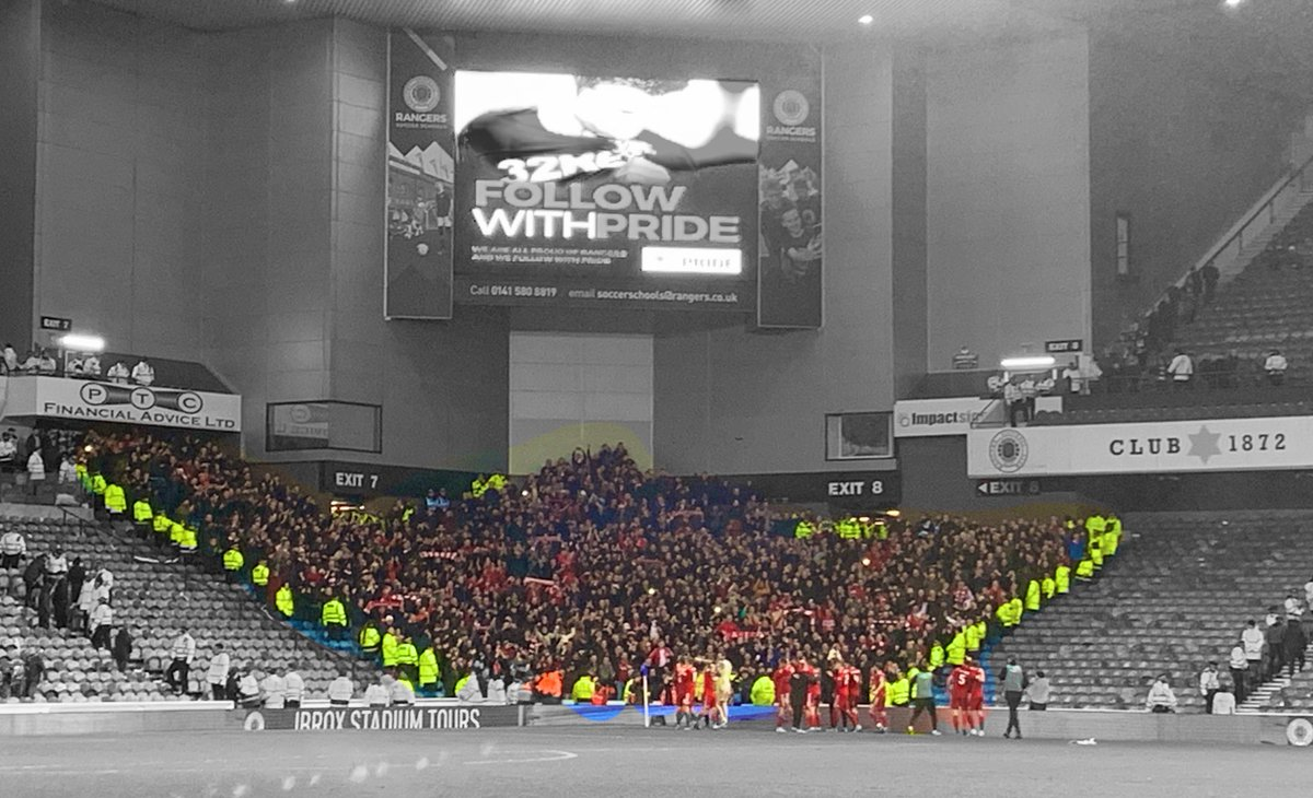 931 jubilant #Reds at Ibrox. HUGE performance from a young, developing @AberdeenFC team. So proud of them all. Hard to find the words, so here goes... Yaaaaassss!! No prizes handed out for a semi though, so onto the next one. #COYR #RedsGoSteaminIn #WinTheMoment  <br>http://pic.twitter.com/QkvABSfOI6