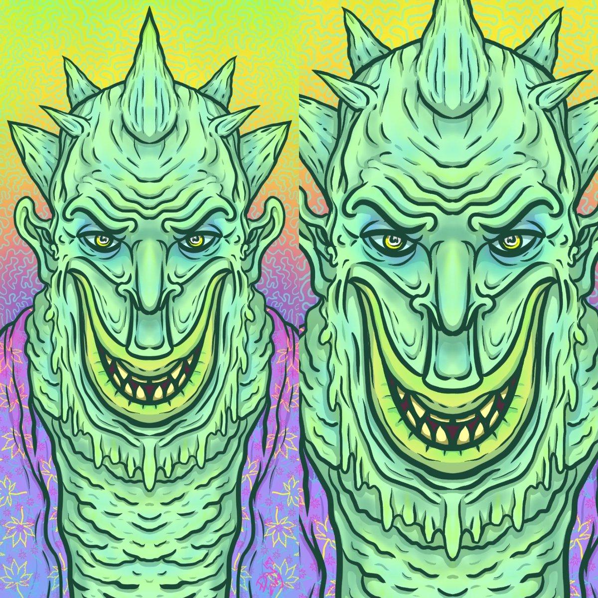 Nikolass Stojanović on Twitter: #art #artist #ilustrator #ilustration #digitalartist #digitalart #designer #demon #green #weed #horror #tattoo #sketchbook #slime #nikolass #nikolass83 #nikolass83gianni #deviantart #penup #note8art #note8 #spen #ibispaintx #samsungglobal #samsungsrbija #srbija #serbia…