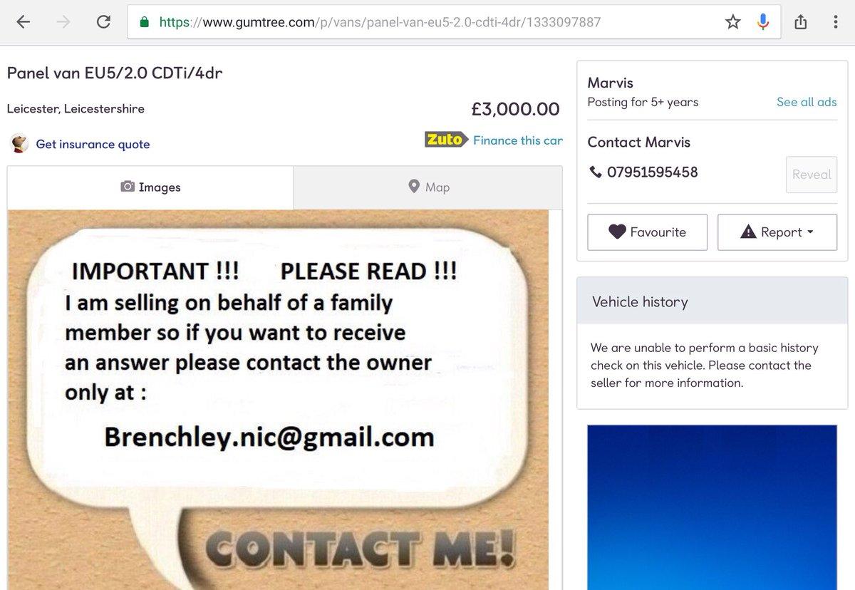 Gumtree Contact Number