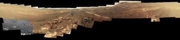 Panorama image of Mars