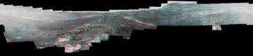 3D Mars panorama
