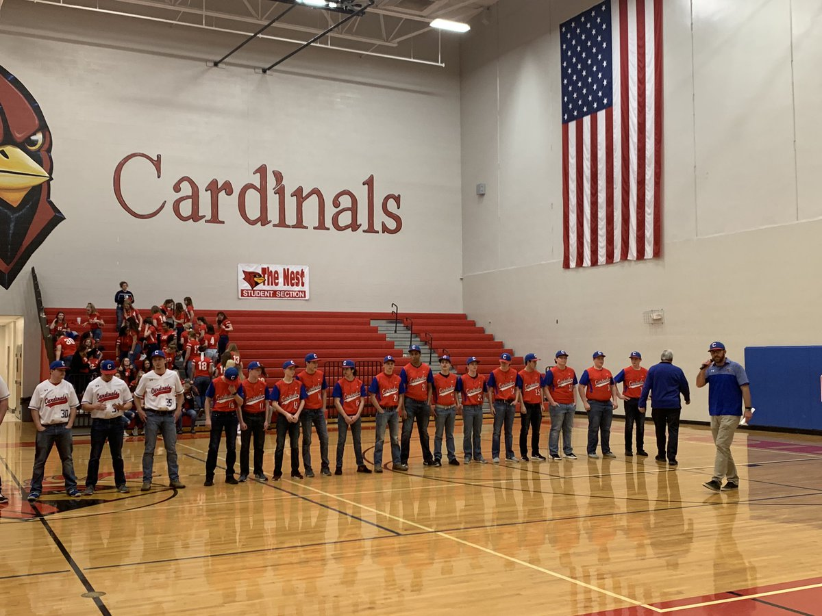 Baseball and Soccer at Spring meet the Cards