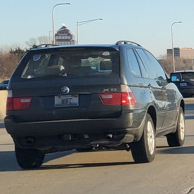 👀👀👀 seen in traffic during this morning's rush hour, somewhere on I-355 North. If this is you, send us a PM