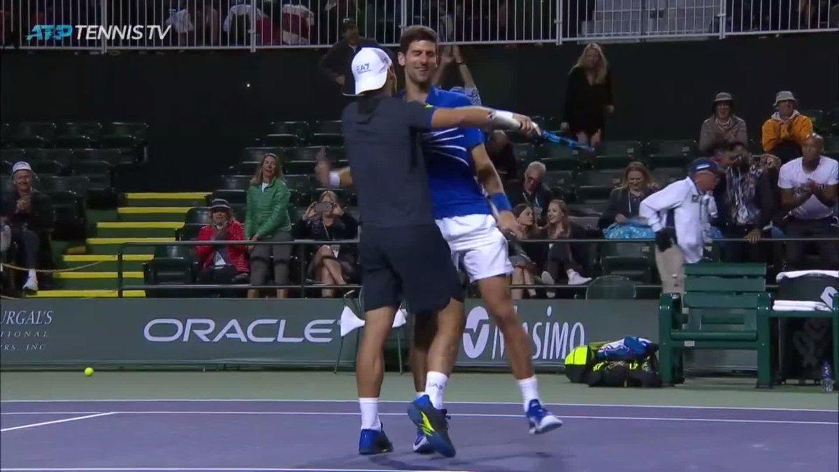 Tennis TV's photo on Djokovic