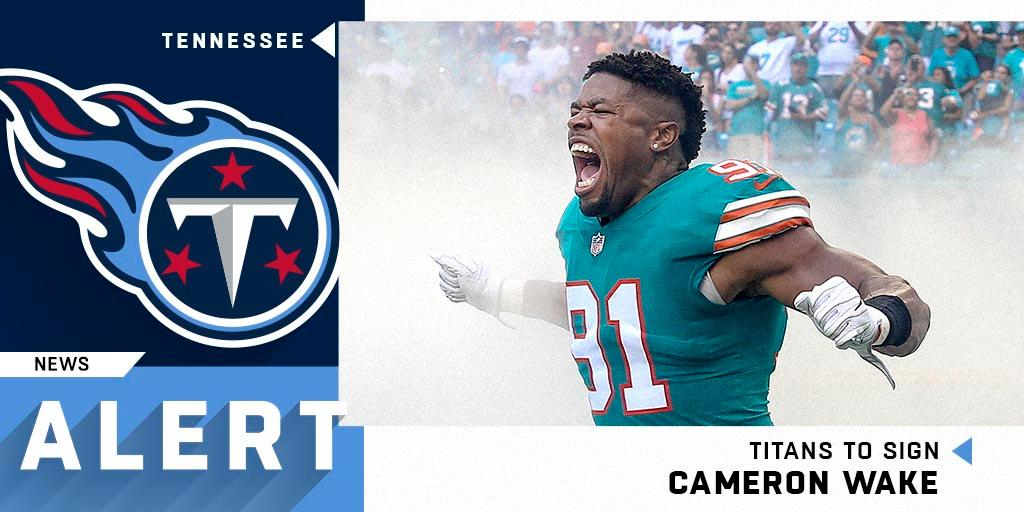 Cameron Wake and the @Titans have agreed to a three-year, $23 million deal. (via @TomPelissero) https://t.co/YxKOMp63N1