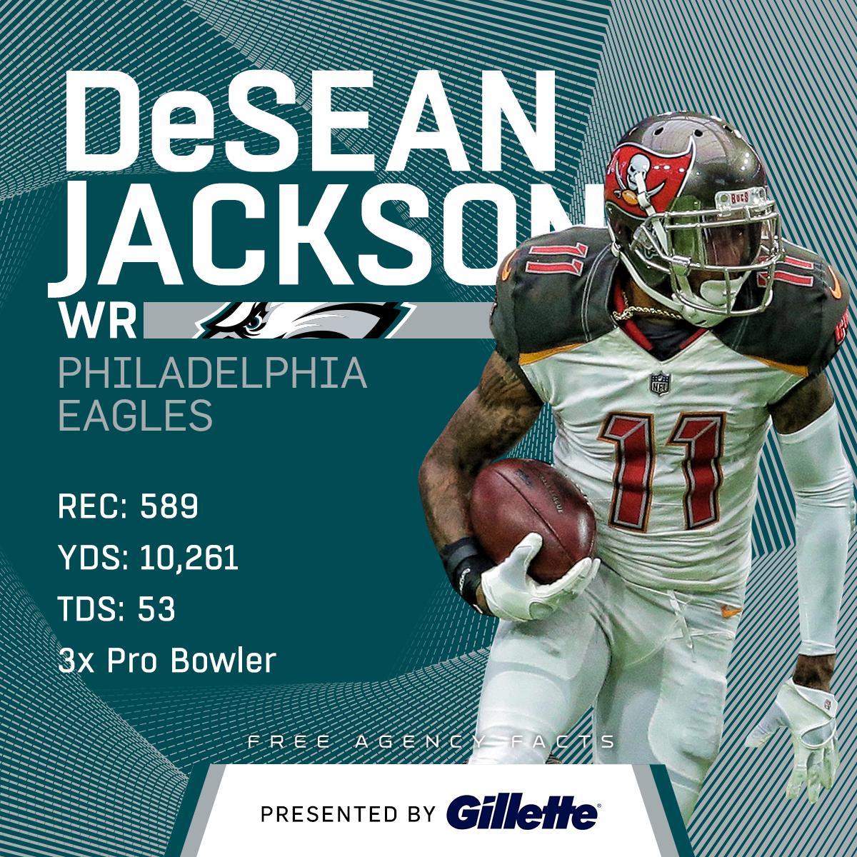 Carson Wentz + @DeSeanJackson11 = How many touchdowns? ��  (by @Gillette) https://t.co/dl9fod6kp7