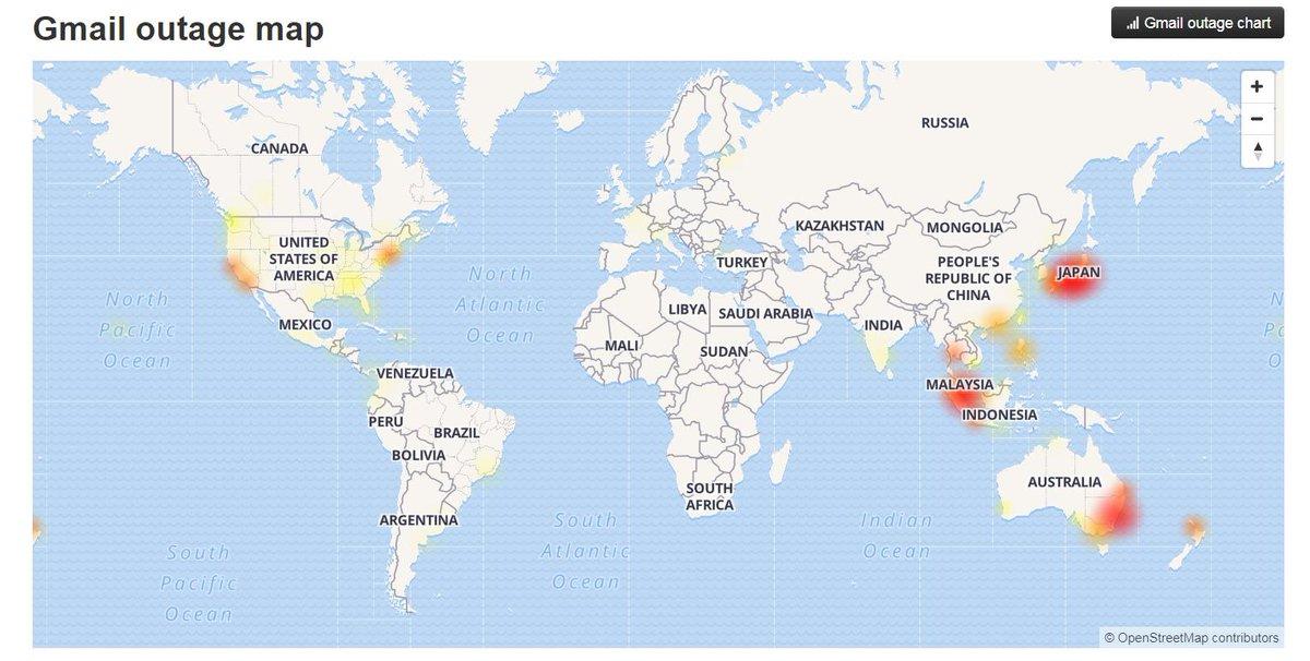 Map Of Australia Nz.Elysse Morgan On Twitter Gmail Outage Map Australia Nz Malaysia