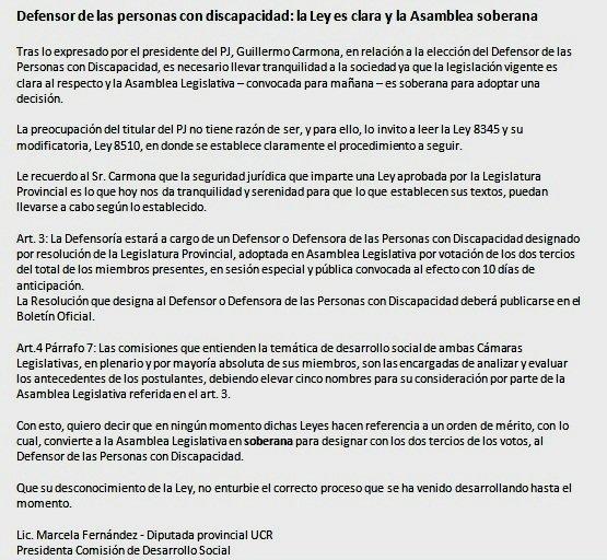 UCR Diputados Mza's photo on Personas con Discapacidad