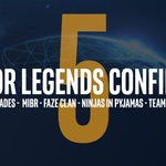 Image for the Tweet beginning: 5 invited teams. 5 major