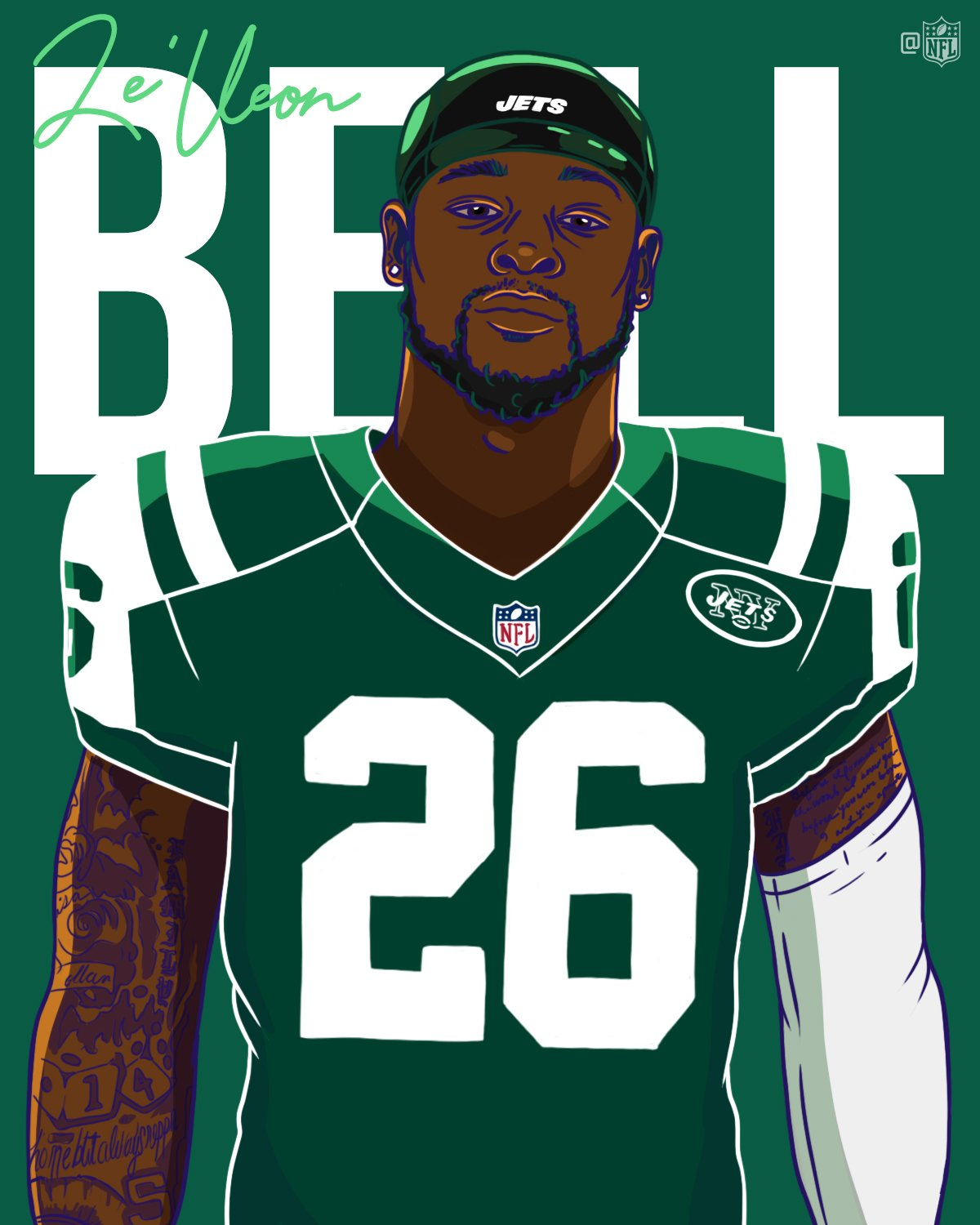 Welcome to the @nyjets, @LeVeonBell! https://t.co/dGYlhXqHbE