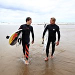 Fantastic to meet you legend!! @Mick_Fanning  Thanks for the lesson 🏄🏽♂️🏄🏽♂️🏄🏽♂️