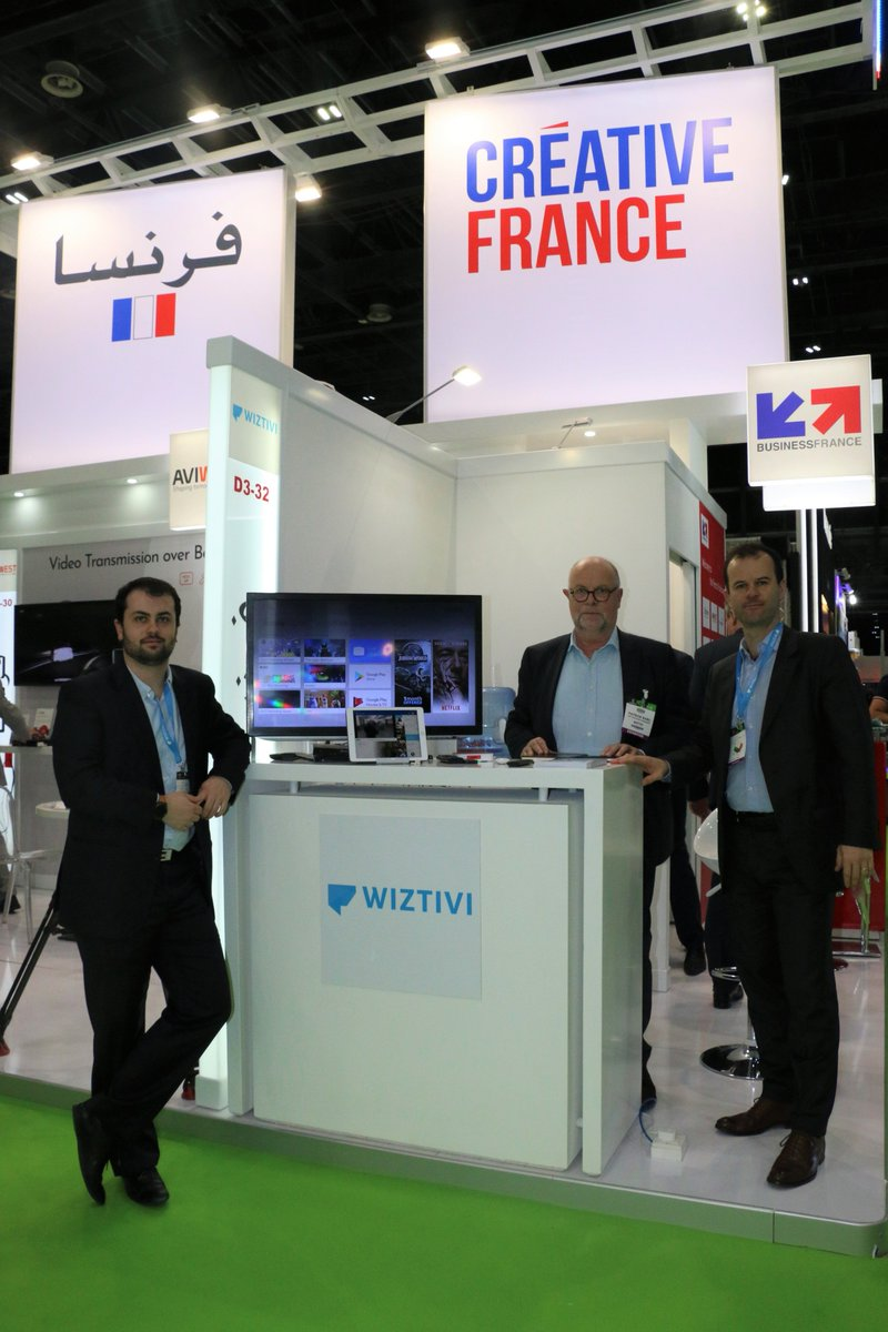 Come & learn about @Wiztivi they delivers applications, User Interfaces and cloud gaming services for Set-top-boxes #TVsets #mobiledevices &  #GameConsoles visit @CABSATofficial 2019 #FrenchPavilion D3-32 #FranceAtCabsat #InfoBF