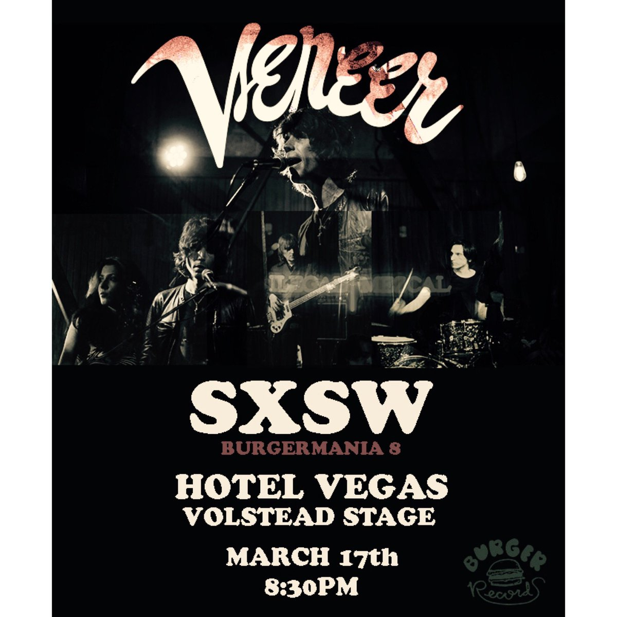 I'm playing w/ #Veneer, this Sun. night, 8:30, p.m. on the #Burgermania/#Volstead stage, @ the South by South West (SxSW) festival!  #southbysouthwest  #southbysouthwestmusicfestival #burgerrecords  #hotelvegas  #austin  #texas  #austintexas  https://www.facebook.com/events/615911158849297/ …pic.twitter.com/VkDQ1ll9Q1