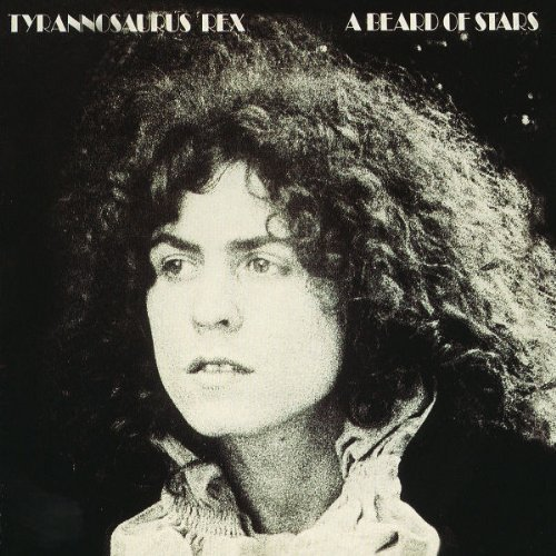 Realeasd today 13th March 1970 &quot;A Beard of Stars&quot; the final album from  Tyrannosaurus Rex, before changing their name to T. Rex.  It was the first album  to feature  Mickey Finn, who replaced Steve Peregrin <br>http://pic.twitter.com/VpdmIBJKeL