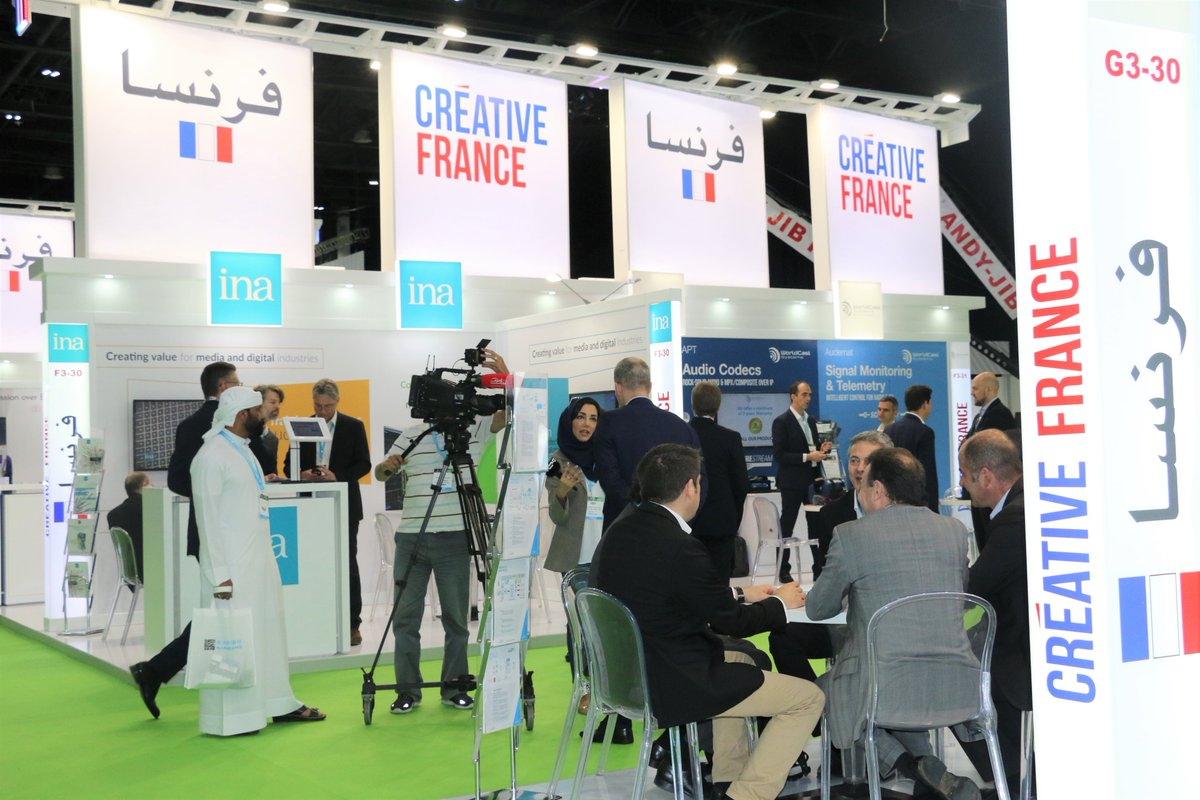 Day 2 of @CABSATofficial 2019 come out and meet the French exhibitors in Hall 3 #FrenchPavilion discover #broadcasters #producers #integrators & #TVchannels #FranceAtCabsat #InfoBF https://bit.ly/2NJsWek