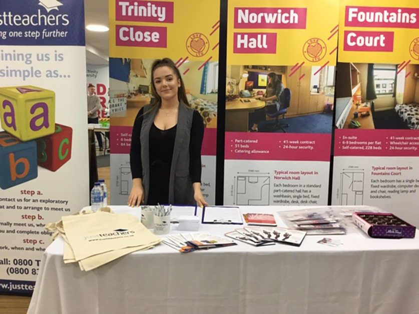 test Twitter Media - Great to be at #LeedsTrinityUniversity 2019 Teaching Recruitment Fair. If you are, or soon to become a NQT & looking for EYFS, Primary or Secondary teaching roles, then download our #NQTGuide or register with us here: https://t.co/mnMbHQt7yV https://t.co/nvv7cYcZHE