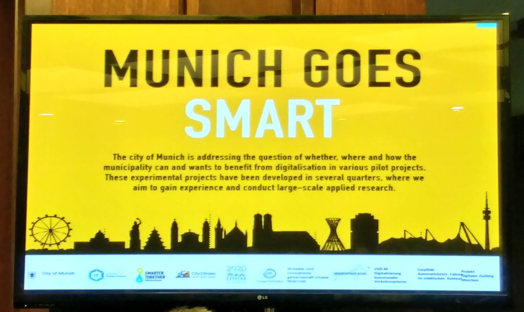 Smart City München On Twitter Generalassembly Session In