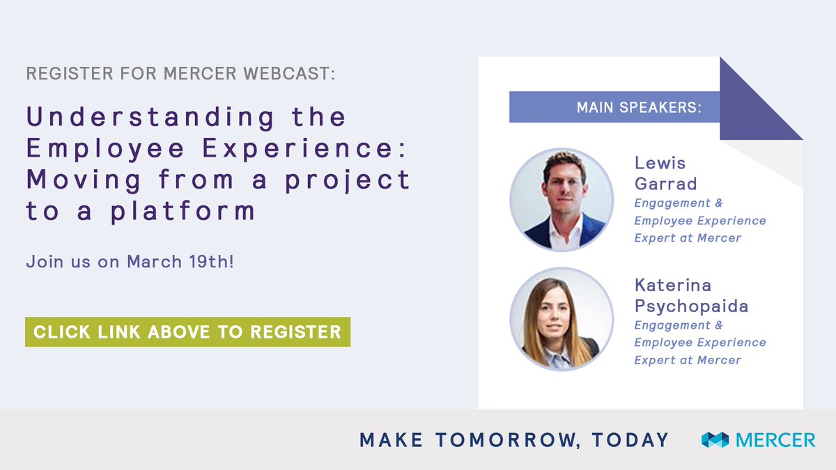 Join Our Webcast With Lewisgarrad And Katerina Psychopaida On 19 March As They Discuss Why An Employee Voice Strategy Is So Important