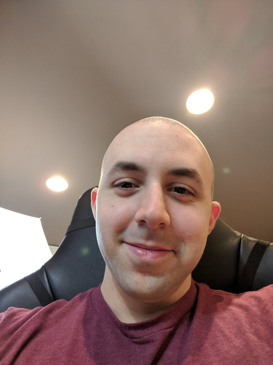 Afraid, getting shaved bald your phrase