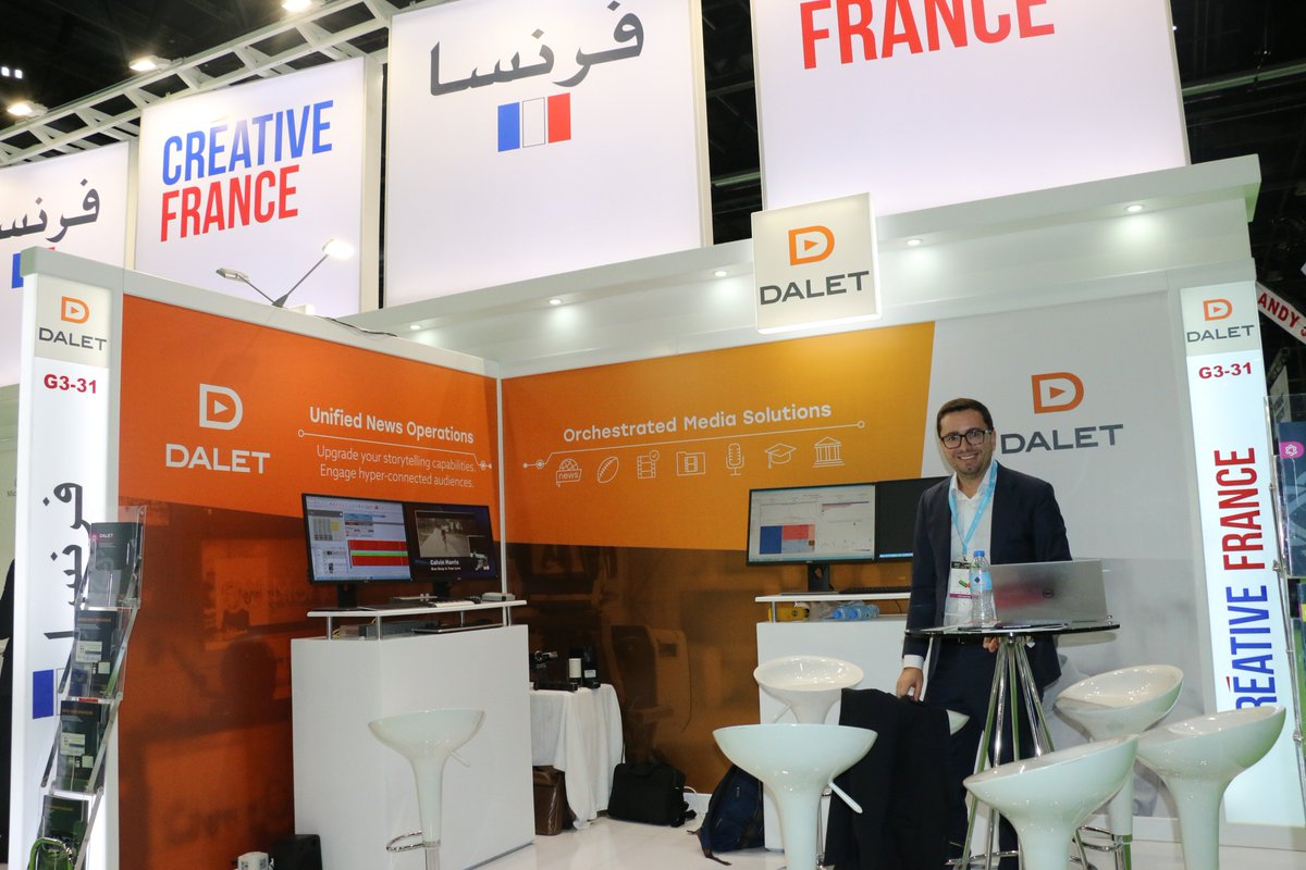 Meet up @DaletTechnology solutions they offers rich collaborative tools empowering end-to-end workflows for #news #sports, program preparation, post-production #archives #radio education, governments and institutions. Find them @CABSATofficial #FrenchPavilion hall 3-G3-31 #InfoBF