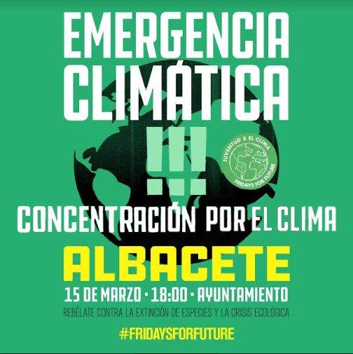 AUDIO | El movimiento #FridaysForFuture llega a #Albacete https://t.co/uJSIBizMaZ cc @AbFridays https://t.co/WsaidnYY9g
